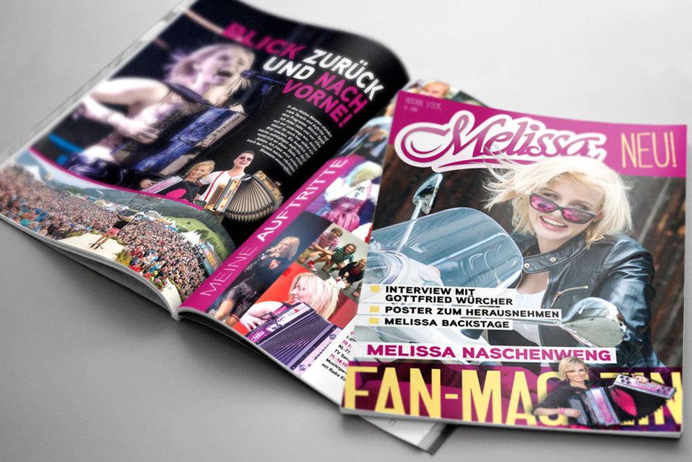 Melissa Magazin - Das Fanmagazin von Melissa Naschenweng