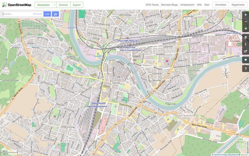 OpenStreetMap – Die freie Wiki-Weltkarte