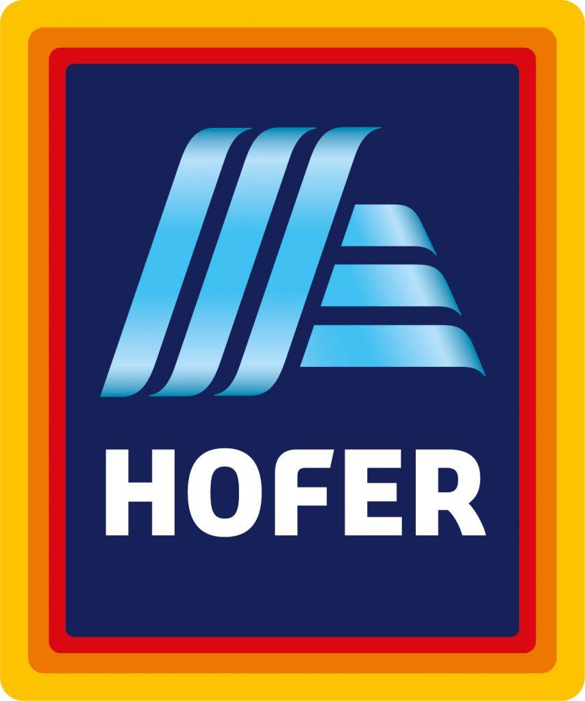 Hofer Logo-Relaunch